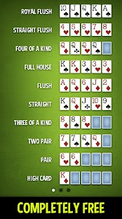 poker games rules